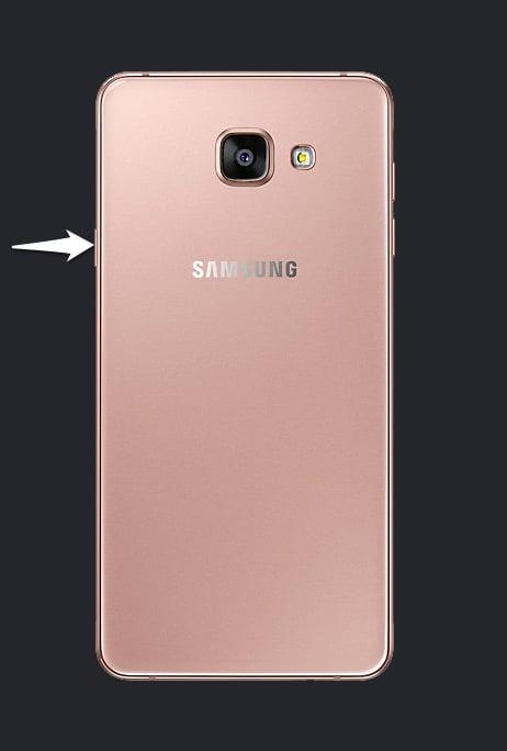 Samsung A710F Power