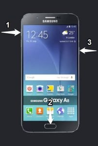 Samsung A800F Recovery