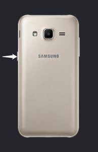 Samsung J200G Power