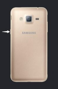 Samsung J320F Power