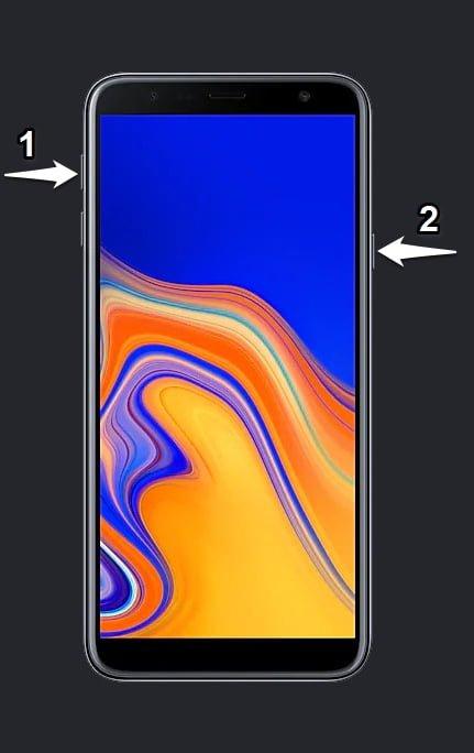 Samsung J415F Recovery