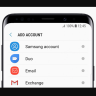 samsung account setting